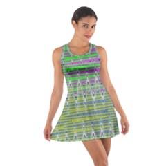 Colorful Zigzag Pattern Racerback Dresses