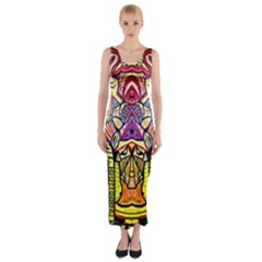 Last Of Fitted Maxi Dress