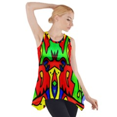 Knowledge Side Drop Tank Tunic