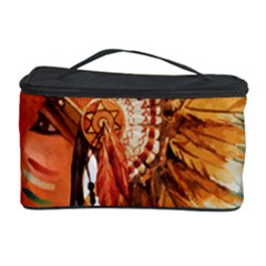 Native American Young Indian Shief Cosmetic Storage Cases