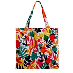 Seamless Autumn Leaves Pattern  Grocery Tote Bag
