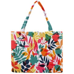 Seamless Autumn Leaves Pattern  Mini Tote Bag