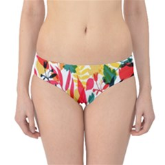 Seamless Autumn Leaves Pattern  Hipster Bikini Bottoms