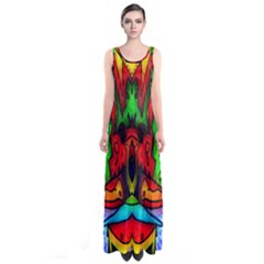 Faces Full Print Maxi Dress