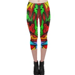 Faces Capri Leggings