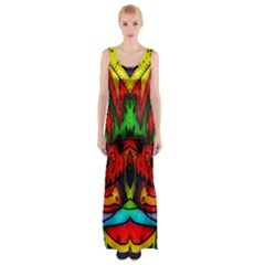 Faces Maxi Thigh Split Dress