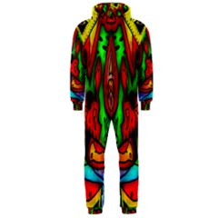 Faces Hooded Jumpsuit (men)