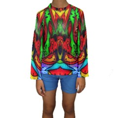 FACE TWO Kid s Long Sleeve Swimwear