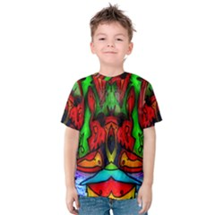 Face Two Kid s Cotton Tee