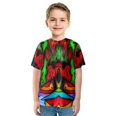 FACE TWO Kid s Sport Mesh Tee