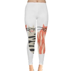 Two Lovely Cats   Leggings
