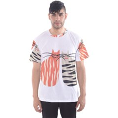 Two Lovely Cats   Men s Sport Mesh Tee