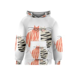 Two Lovely Cats   Kids  Pullover Hoodie