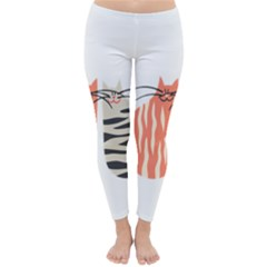 Two Lovely Cats   Winter Leggings