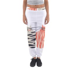 Two Lovely Cats   Women s Jogger Sweatpants