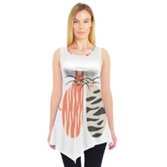Two Lovely Cats   Sleeveless Tunic