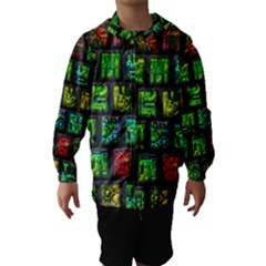Colorful buttons               Hooded Wind Breaker (Kids)