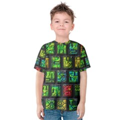 Colorful buttons               Kid s Cotton Tee