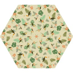Tropical Garden Pattern Mini Folding Umbrellas