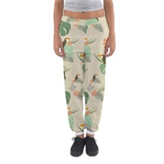 Tropical Garden Pattern Women s Jogger Sweatpants