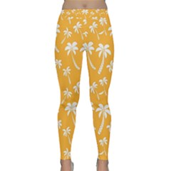 Summer Palm Tree Pattern Yoga Leggings