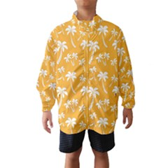 Summer Palm Tree Pattern Wind Breaker (Kids)