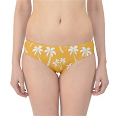Summer Palm Tree Pattern Hipster Bikini Bottoms