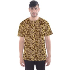 Animal Texture Skin Background Men s Sport Mesh Tee