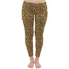Animal Texture Skin Background Winter Leggings