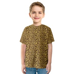 Animal Texture Skin Background Kid s Sport Mesh Tee