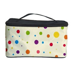 Colorful Dots Pattern Cosmetic Storage Cases