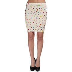Colorful Dots Pattern Bodycon Skirts
