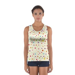 Colorful Dots Pattern Tops