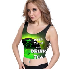 Keep Calm and Drink Tea - Special Edition Crop Top