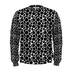 Animal Texture Skin Background Men s Sweatshirt