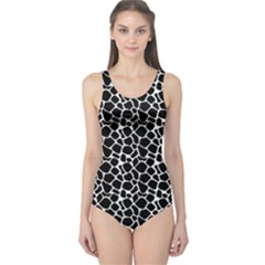Animal Texture Skin Background One Piece Swimsuit