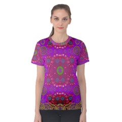Steam Punk And Fauna In A Global Gathering Women s Cotton Tee