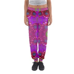 Steam Punk And Fauna In A Global Gathering Women s Jogger Sweatpants
