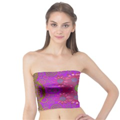 Steam Punk And Fauna In A Global Gathering Tube Top