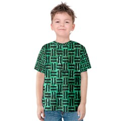 WOV1 BK-GR MARBLE (R) Kid s Cotton Tee