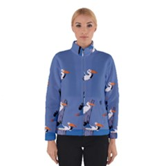 abstract Pelicans seascape tropical pop art Winterwear