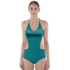 Tealiandro Cut Out One Piece Swimsuit