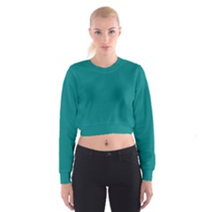 Tealiandro Women s Cropped Sweatshirt