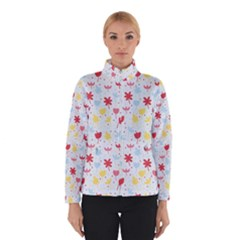 Seamless Colorful Flowers Pattern Winterwear