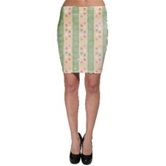 Seamless Colorful Dotted Pattern Bodycon Skirts