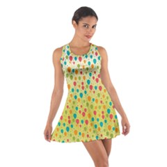 Colorful Balloons Backlground Racerback Dresses