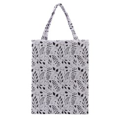 Hand Painted Floral Pattern Classic Tote Bag
