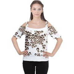 Bubbles! Women s Cutout Shoulder Tee