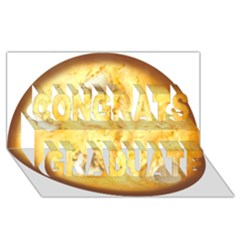 White Chocolate Chip Lemon Cookie Novelty Congrats Graduate 3d Greeting Card (8x4)