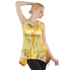 White Chocolate Chip Lemon Cookie Novelty Side Drop Tank Tunic